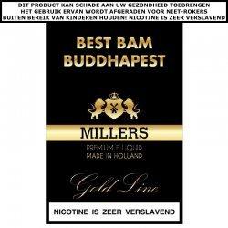 Millers e-liquid Best Bam Buddhapest