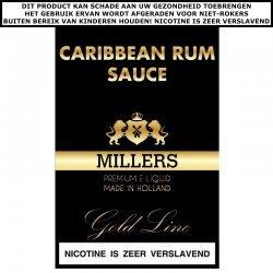 Millers e-liquid Caribbean Rum Sauce