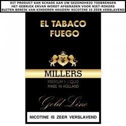 MILLERS E-LIQUID  El TABACO FUEGO