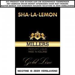 Millers e-liquid Sha-la-lemon