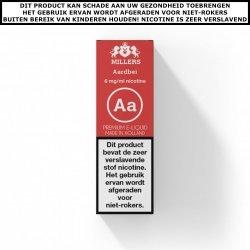Millers e-liquid Aardbei