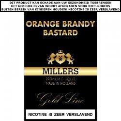 Millers e-liquid Orange Brandy Bastard