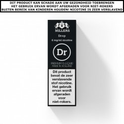 Millers e-liquid Drop