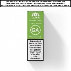 Millers e-liquid Groene Appel