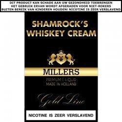 Millers e-liquid Shamrocks Whiskey Cream