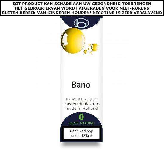 Bookwill e-liquid Bano