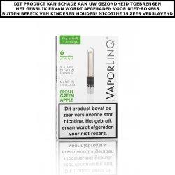 VaporLinQ Cartridges Fresh Green Apple (5 stuks)