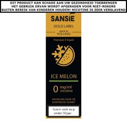 Sansie Gold label E-liquid Ice Melon