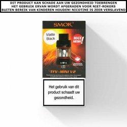 SMOK TFV MINI V2 CLEAROMIZER - 2ML Zwart