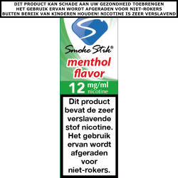 SmokeStik Premium e-liquid Menthol Medium 12Mg/ml