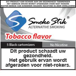 SmokeStik Cartomizer No-nic (zwart) 0 mg/ml