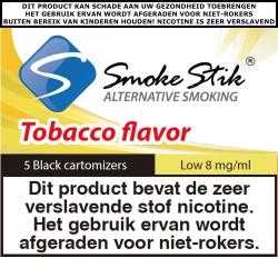 SmokeStik Cartomizer Low (black) 8 mg/ml