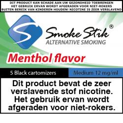 SmokeStik Cartomizer Menthol Medium (black) 12 mg/ml