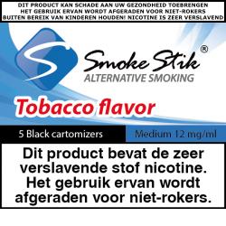 SmokeStik Cartomizer Medium (black) 12 mg/ml