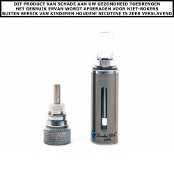 SmokeStik ULTRA clearomizer Silver incl. coil