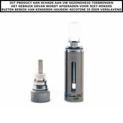 SmokeStik ULTRA clearomizer Silver incl. coil