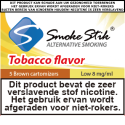 SmokeStik Cartomizer Low (brown) 8 mg/ml