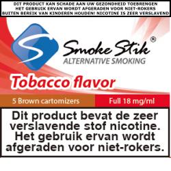 SmokeStik Cartomizer Full (brown) 18 mg/ml