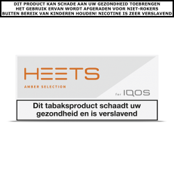 IQOS HEETS Amber Selection (10 pakjes)