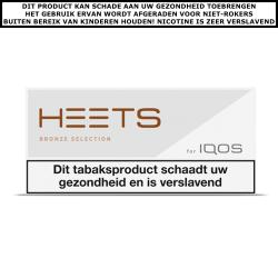 IQOS HEETS Bronze Selection (10 pakjes)