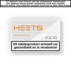 IQOS HEETS Amber Selection (1 pakje)