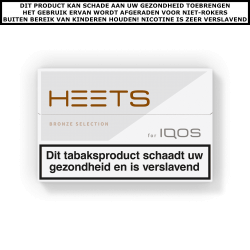 IQOS HEETS Bronze Selection (1 pakje)