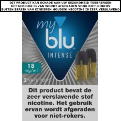 BLU INTENSE POD - MENTHOL (2 ST.)