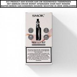 SMOK PRIV N19 + NORD 19 CLEAROMIZER - 1200MAH STARTSET - 2ML