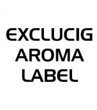 Exclucig Aroma Label