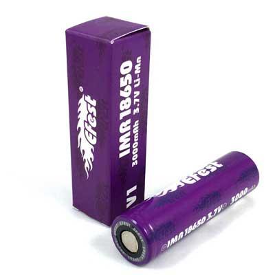 Batterij e-sigaret