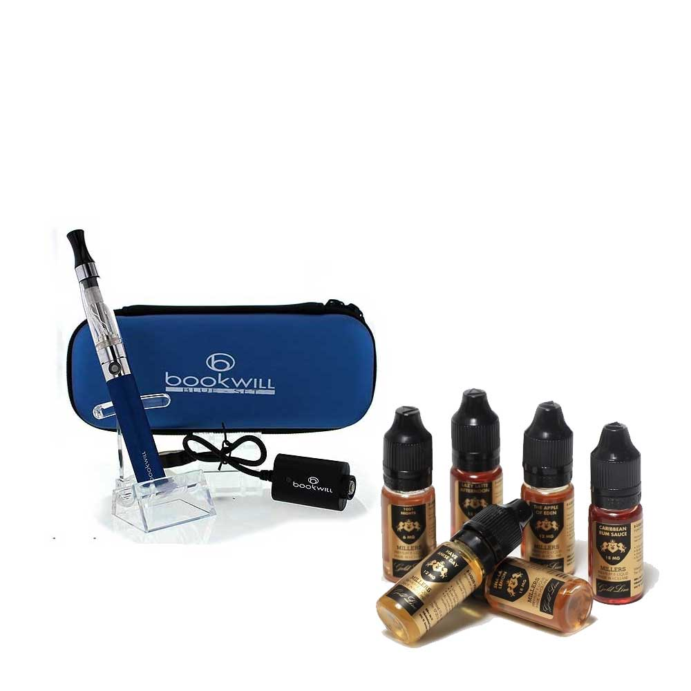 E-cigarette starter sets