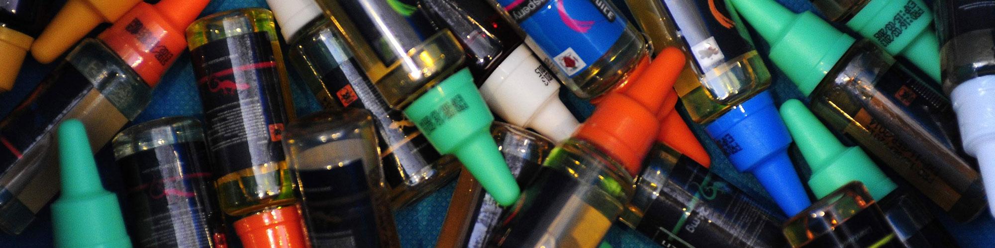 VG E-liquid versus PG mix